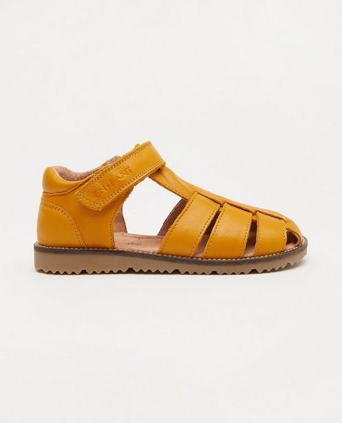 Sandales jaunes EnFant, pointure 27-33 - avec un velcro - Enfant