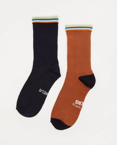 Lot de 2 paires de chaussettes Baptiste