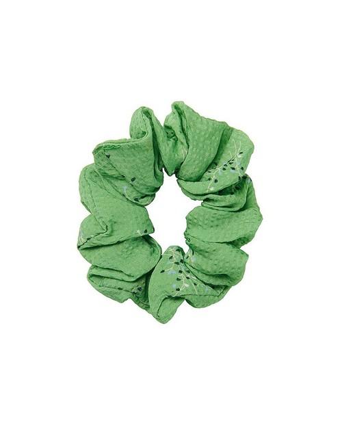 Chouchou à imprimé CKS - vert - CKS