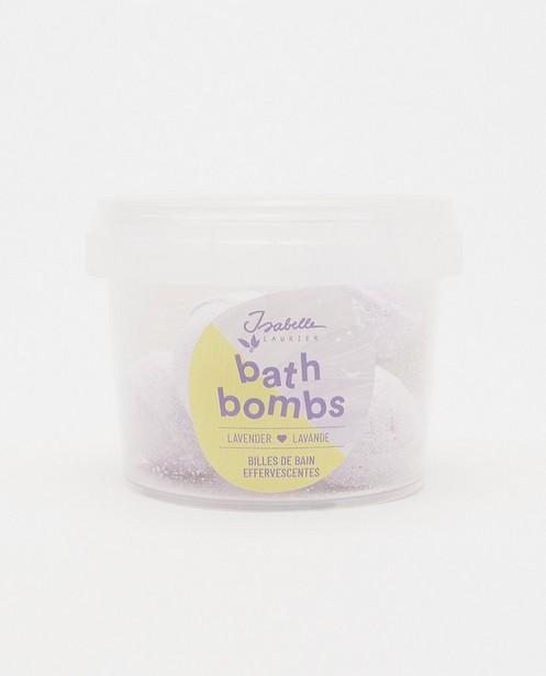 Billes de bain lavande Isabelle Laurier - mini bombes de bain - Isabelle Laurier
