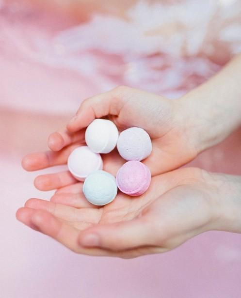 Gadgets - Billes de bain lavande Isabelle Laurier