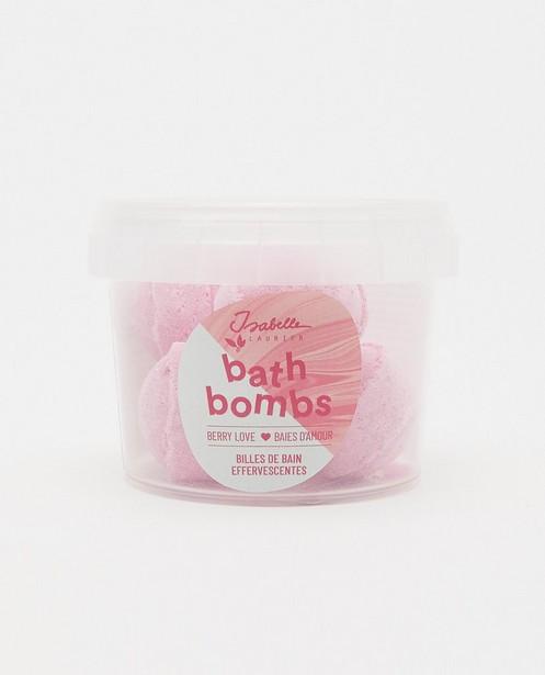 Billes de bain Berry Love Isabelle Laurier - mini bombes de bain - Isabelle Laurier