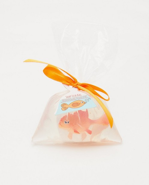 Zeep en visspeeltje Isabelle Laurier - happy fish bag - Isabelle Laurier