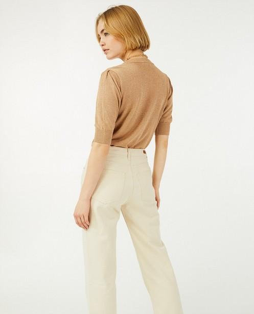Jeans baggy écru Ginger Sora - mid rise - Sora