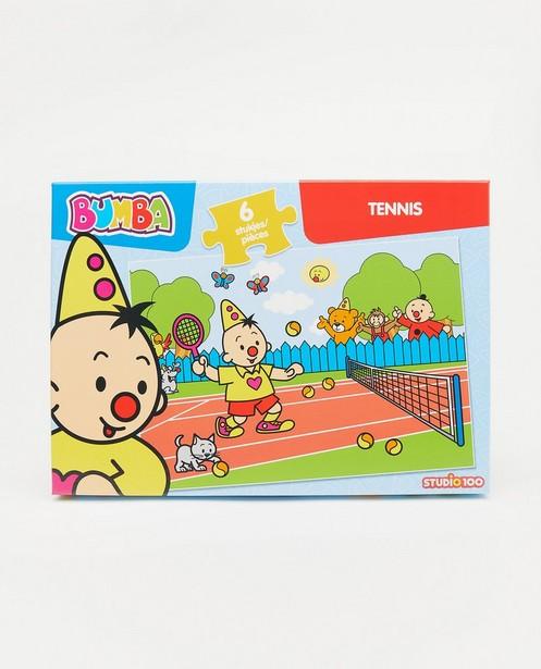 Bumbapuzzel: tennis - 6 stukjes - Bumba