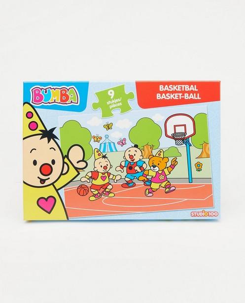 Bumbapuzzel: Basketbal - 9 stukjes - Bumba