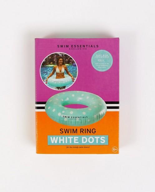 Bouée bleu clair à pois - blancs - Swes
