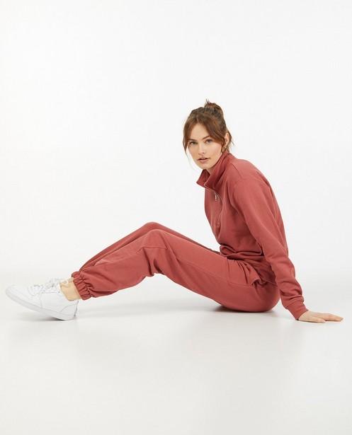 Roze jogger Ella Italia - stretch - Ella Italia