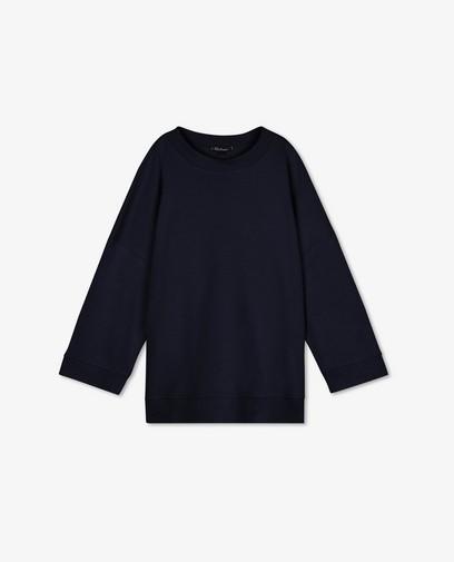 Blauwe oversized sweater Ella Italia