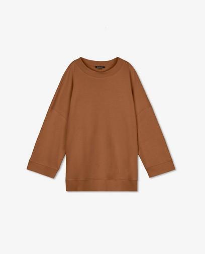 Bruine oversized sweater Ella Italia