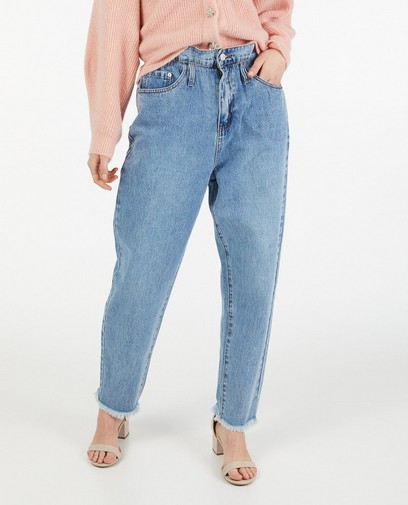 Jeans slouchy bleu Ella Italia