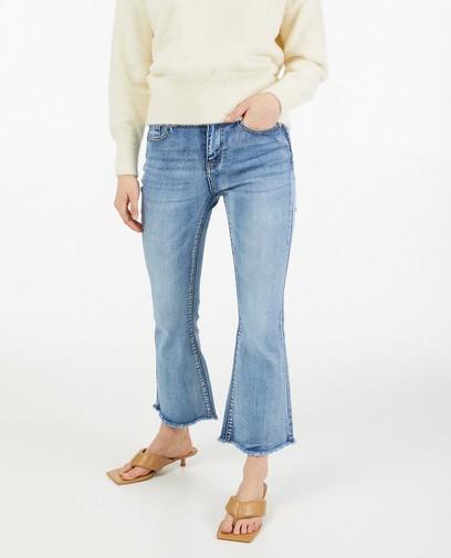 Jeans bleu avec des effilochures Ella Italia