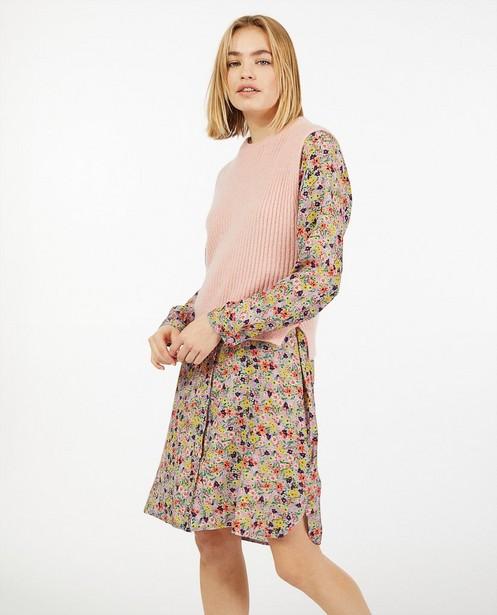 Débardeur rose pastel - fin tricot - Ella Italia