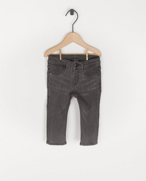 Jeans gris foncé pour bébés - avec du stretch - Cuddles and Smiles