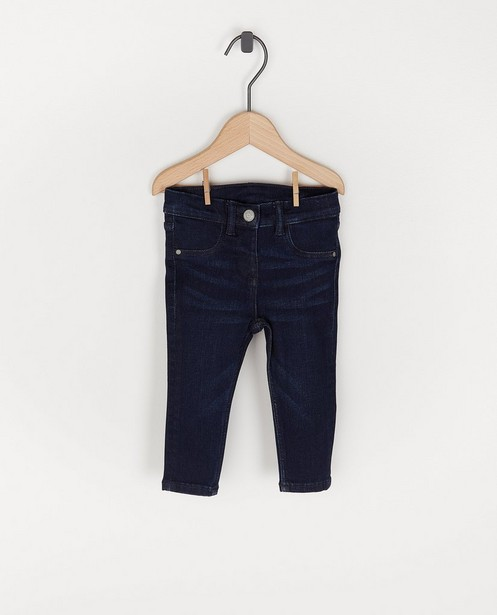 Donkerblauwe jeansbroek voor baby's - stretch - Cuddles and Smiles