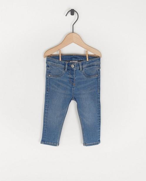 Lichtblauwe jeansbroek voor baby's - stretch - Cuddles and Smiles