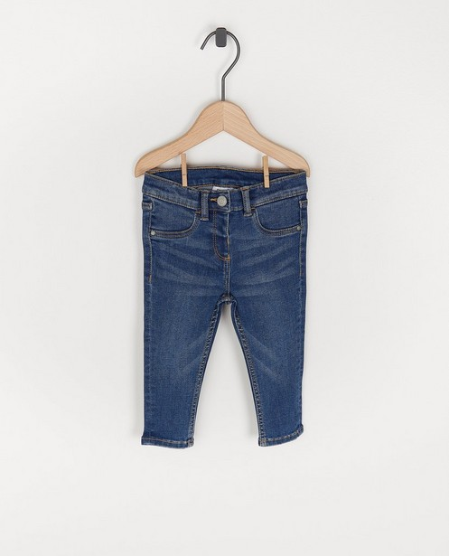 Blauwe jeansbroek voor baby's - stretch - Cuddles and Smiles