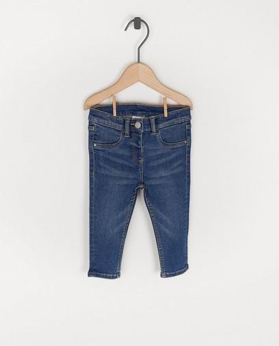 Blauwe jeansbroek voor baby's