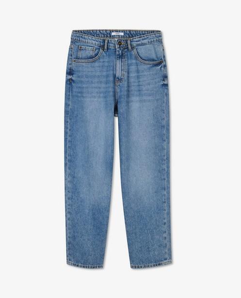 Blauwe 70's straight jeans Kim Sora - van 100% katoen - Sora