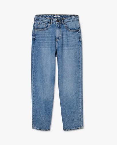 Blauwe 70's straight jeans Kim Sora