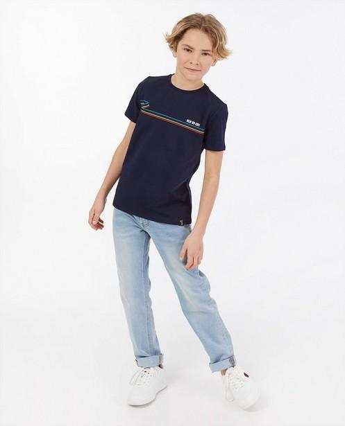'Gelijk nen Echte'-T-shirt, 7-14 jaar - Kom op tegen Kanker - Kom op tegen Kanker