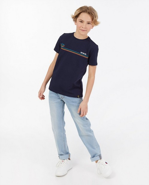 T-shirt «Gelijk nen Echte», 7-14 ans - Kom op tegen Kanker - Kom op tegen Kanker