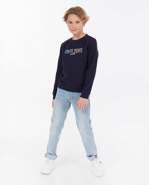 'Gelijk nen Echte'-sweater, 7-14 jaar - Kom op tegen Kanker - Kom op tegen Kanker