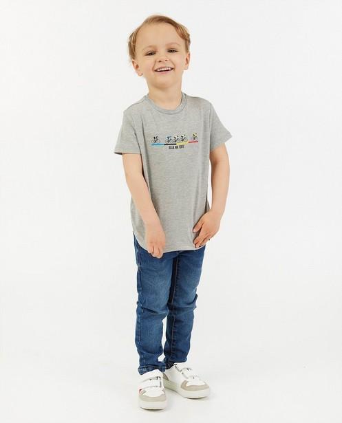 T-shirt «Gelijk nen Echte», 2-7 ans - Kom op tegen Kanker - Kom op tegen Kanker