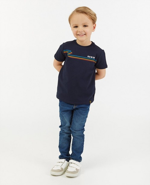'Gelijk nen Echte'-T-shirt, 2-7 jaar - Kom op tegen Kanker - Kom op tegen Kanker