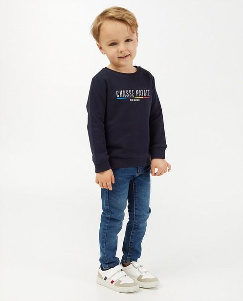 'Gelijk nen Echte'-sweater, 2-7 jaar - Kom op tegen Kanker - Kom op tegen Kanker