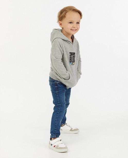 'Gelijk nen Echte'-hoodie, 2-7 jaar - Kom op tegen Kanker - Kom op tegen Kanker