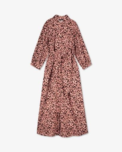Maxi-jurk met luipaardprint Sora