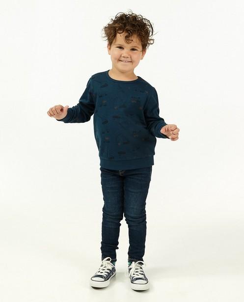 Donkerblauwe skinny Joey, 2-8 jaar - stretch - Kidz Nation