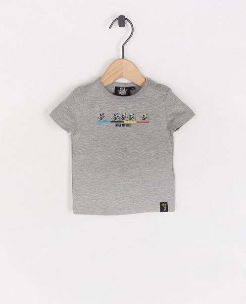 T-shirt «Gelijk nen Echte», bébés - Kom op tegen Kanker - Kom op tegen Kanker