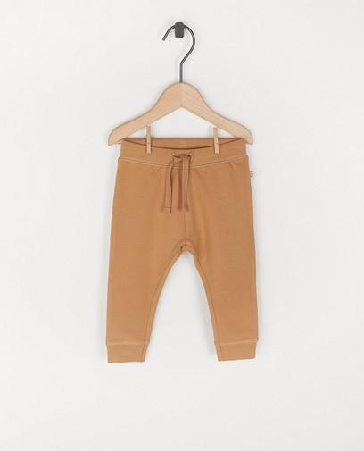 Pantalon molletonné en coton bio - unisexe