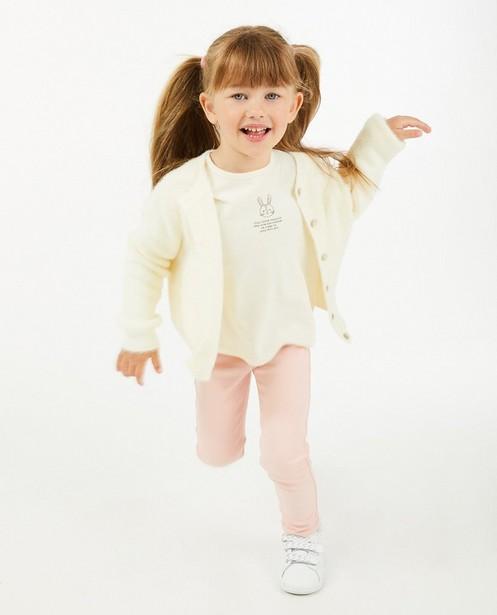 Cardigan blanc - fin tricot - Besties