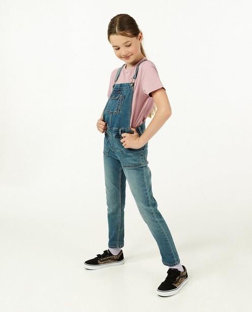 Lila T-shirt met glitter BESTies - opschrift - Besties