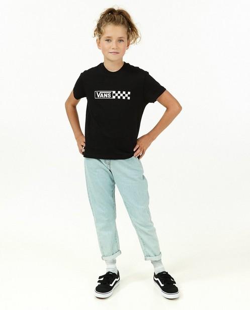 T-shirt noir à imprimé Vans - avec du stretch - Vans
