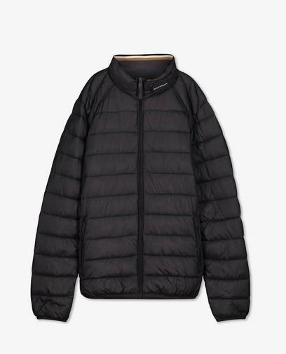100% gerecycleerde jas in donkergrijs