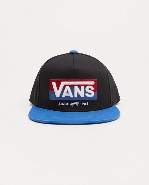 Casquette noire et bleue Vans - avec logo - Vans