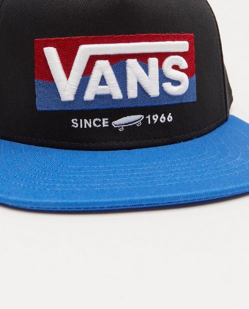 Bonneterie - Casquette noire et bleue Vans