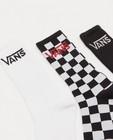 Chaussettes - Lot de 3 paires de chaussettes noires et blanches Vans