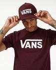 Bordeaux pet met logo Vans - in wit - Vans