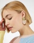 Gadgets - Boucles d'oreilles en laiton avec de l'argile Inimini Homemade