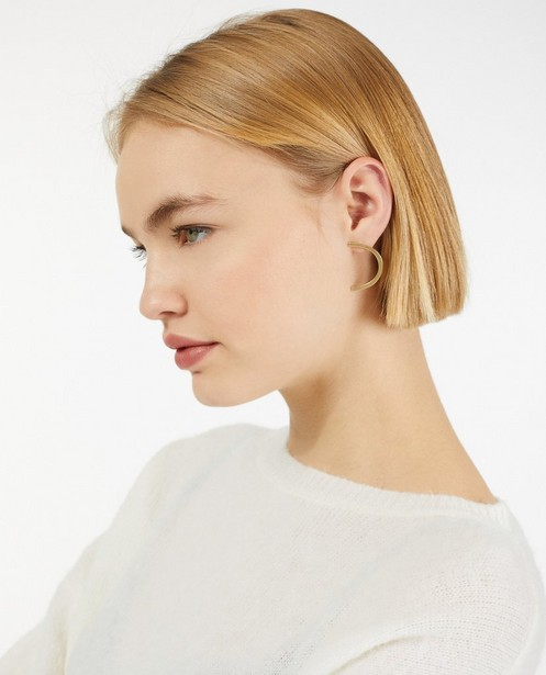 Gadgets - Messing oorbellen Inimini Homemade