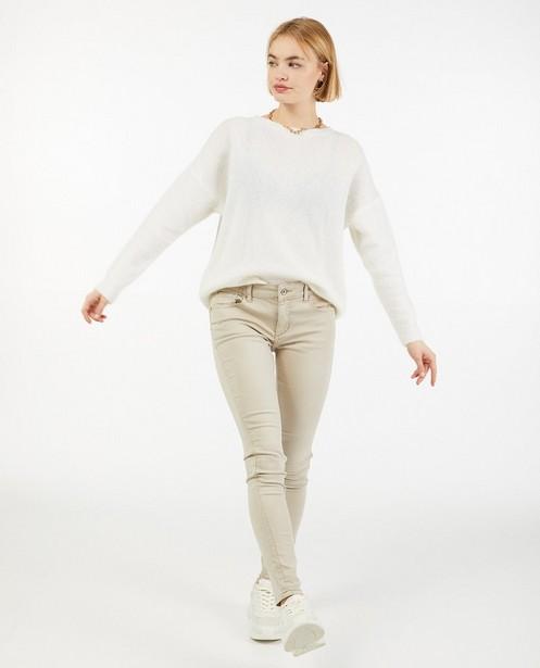 Pantalon beige - stretch - Paris