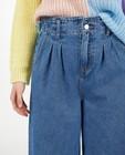Jeans - Blauwe jeans met wijde pijpen