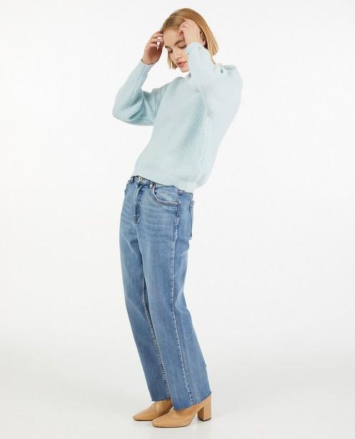 Jeans avec des effilochures - stretch - Paris