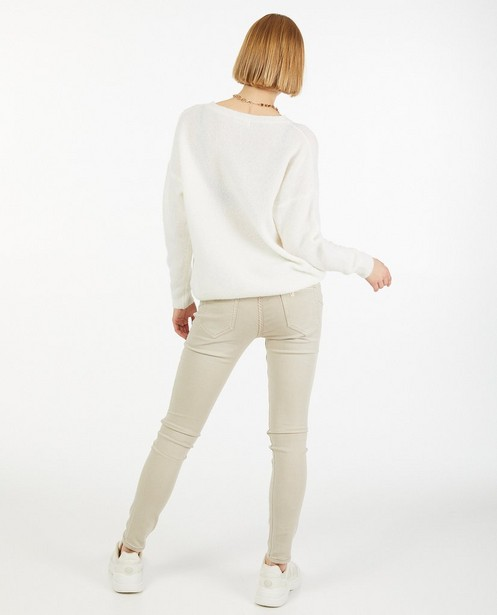 Truien - Offwhite trui