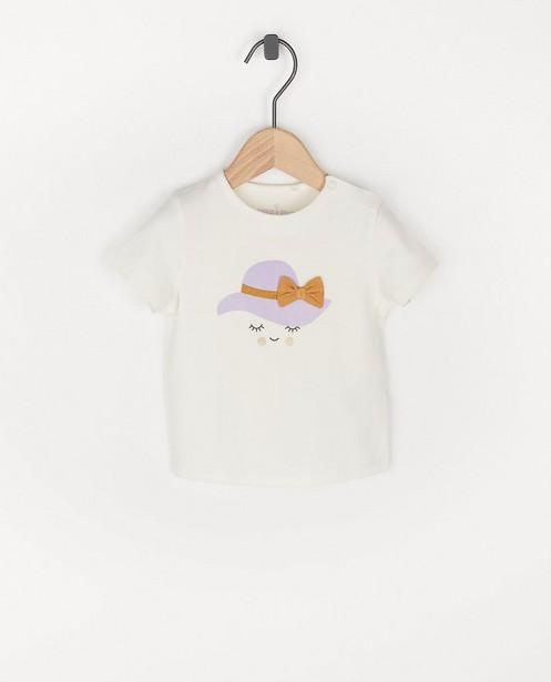 T-shirt en coton bio avec nœud - et paillettes - Cuddles and Smiles